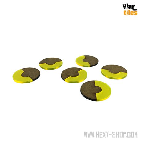 Base 180-Degrees 40mm Yellow (6)