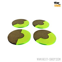 Base 180-Degrees 55mm Green (4)