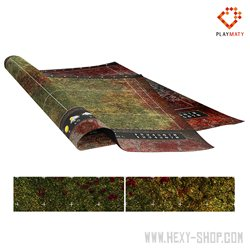 Red Grass / Mountain of Bloody Pleasure - Double-Sided Mat for Blood Bowl