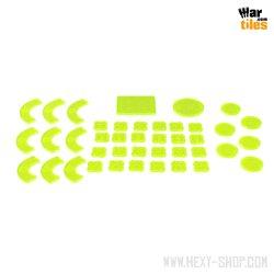 War in the Shadows - Armageddon Token Set - Green