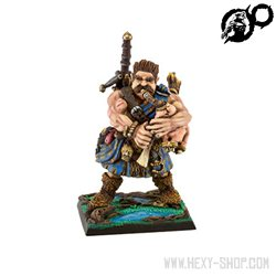 "Ogre Mercenary: Highlander Bagpiper ""Cormag Mac Leoid"""