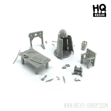 Torture Chamber Basing Kit