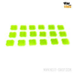 War in the Shadows - Armageddon Token Set Expansion - Green
