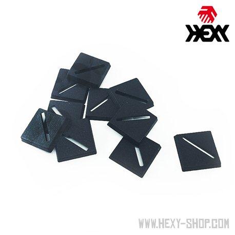 Square 25mm Slotta Bases