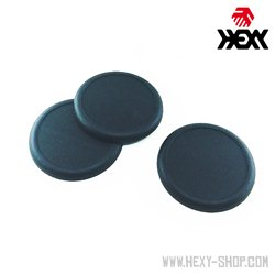Round 50mm Slotted Bases with Lip