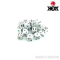 Hexy Dice Set - Supernova White (20)