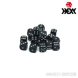 Hexy Dice Set - Deep Space Black (20)