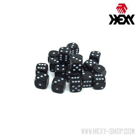 Hexy Dice Set - Deep Space Black (20)