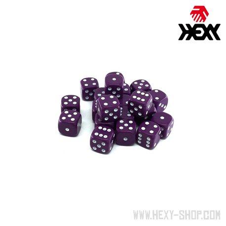 Hexy Dice Set - Mineggler Purple (20)