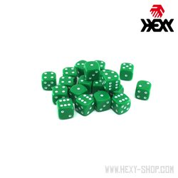 Hexy Dice Set - Weedlock Green (20)