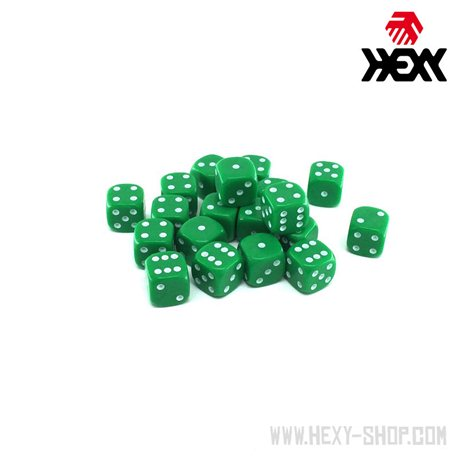 Hexy Dice Set - Weedlock Green (20)