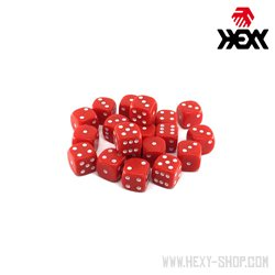 Hexy Dice Set - Bioss Red (20)