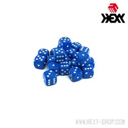 Hexy Dice Set  - Hy'dran Blue (20)