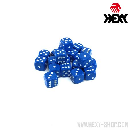 Hexy Dice Set  - Hy'dran Blue (20)
