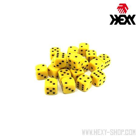 Hexy Dice Set - Metanel Yellow (20)