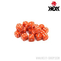 Hexy Dice Set - Terron Orange (20)