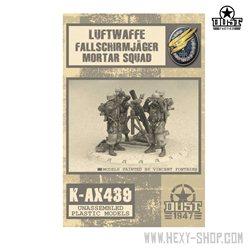 Luftwaffe Fallschrimjager Mortar Squad Squad Kit