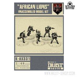 African Lions NDAK Unassembled Model Kit