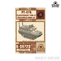 PT-47A – Plavayushchiy Tank-47 Unassemble Model Kit