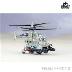 Invader MIL MI-46H Air Gunship Transport Helicopter