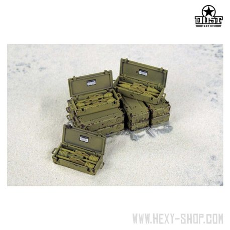 """""""PANZERFAUST PACK"""" - Axis WEAPON CRATES Set 2"""