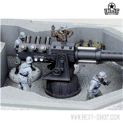 """Winter Crew"" AXIS ARTILLERY CREW Model Kit"