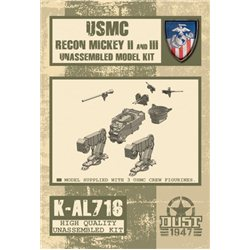 Recon Mickey II&III Unassembled Model Kit
