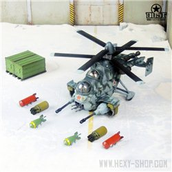 Striker / Burner / Airblaster / Death Rain SSU Ground Attack Helicopter