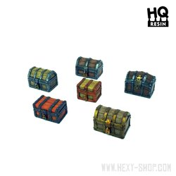 Wooden Chests Set