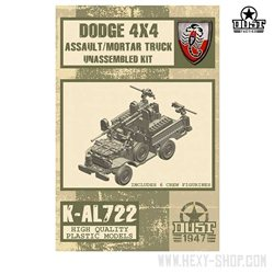 Dodge 4x4 Light Assault/Mortar Truck - Unassembled Kit
