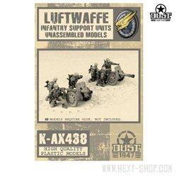 Luftwaffe Infantry Support Units - Unassembled Models