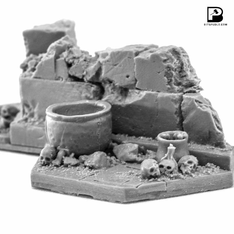 Shadowpike Ruins Terrain Set - Hexy Store - All Miniatures