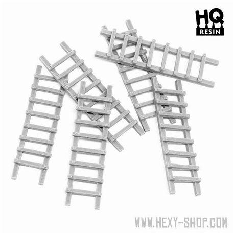 Wooden Ladder Set