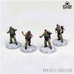 SSU Artillery Crew (Unassembled)