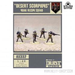 Desert Scorpions NDAK Recon Squad (Unassembled)