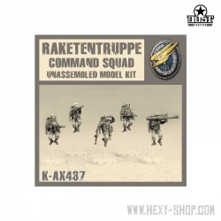 Raketentruppe Command Squad (Unassembled)
