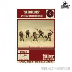 Saboteurs Spetsnaz Squad (Unassembled)