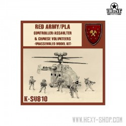 Red Army/PLA Controller/Assaulter (Unassembled)