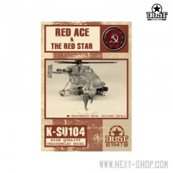 Red Ace & The Red Star (Unassembled)
