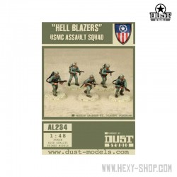 Hell Blazers USMC Assault Squad (Primed Models)