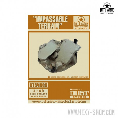 Impassable Terrain (Primed Model)