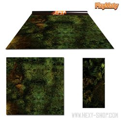 Orc Lands / Amethyst land – Double-Sided 36″ x 36″ Mat for Battle Games