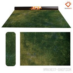 """Forest Moss / Dark Island - Double-Sided 72"""" x 48"""" Mat for Battle Games"""