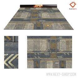 """Infinity 1 / Rice Field 1 - Double-Sided 72"""" x 48"""" Mat for Battle Games"""