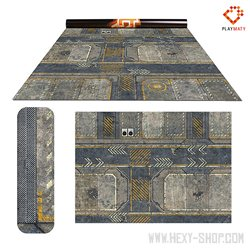 """Infinity 2 / Rice Field 2 - Double-Sided 72"""" x 48"""" Mat for Battle Games"""