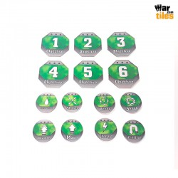 Kill Teams Tokens Set - Green