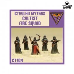 Cthulhu Mythos Cultist Fire Squad