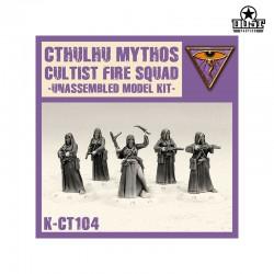 Cthulhu Mythos Cultist Fire Squad (Unassembled)