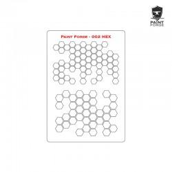 Stencil - Hex 2 - Large