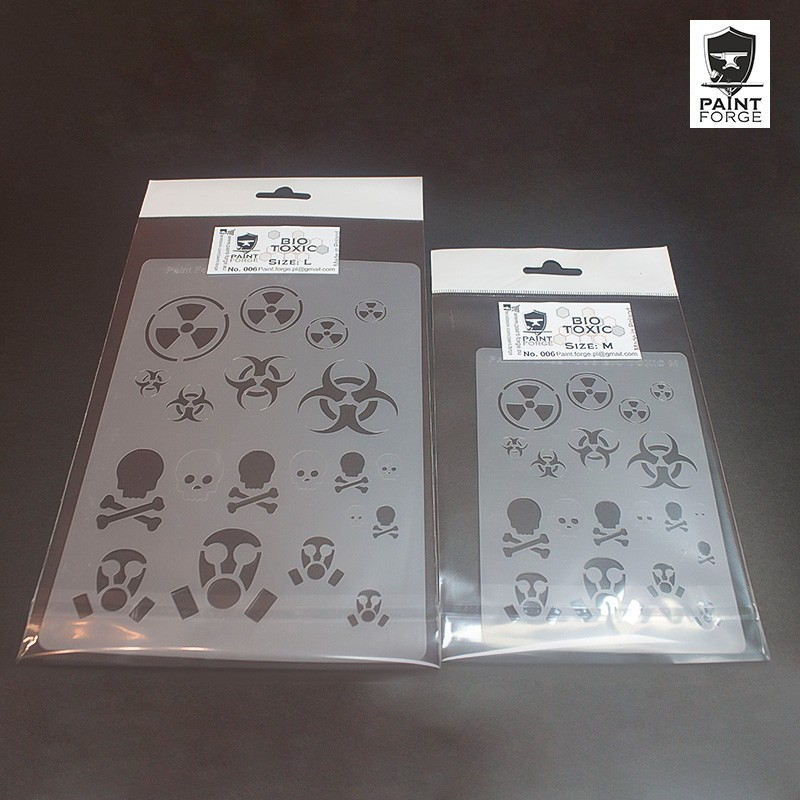 Stencil - Hex 2 - Large - Hexy Store - All Miniatures in one place